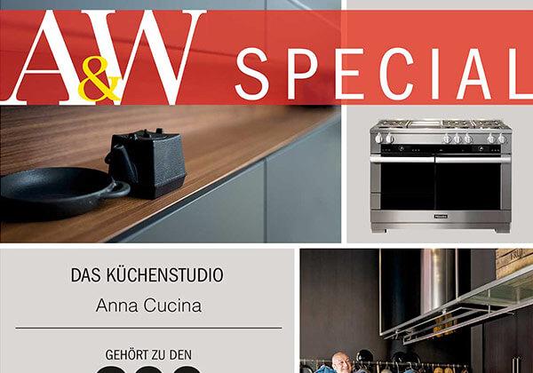 A&W Special: Wir gehören zu den Top-Küchenstudios